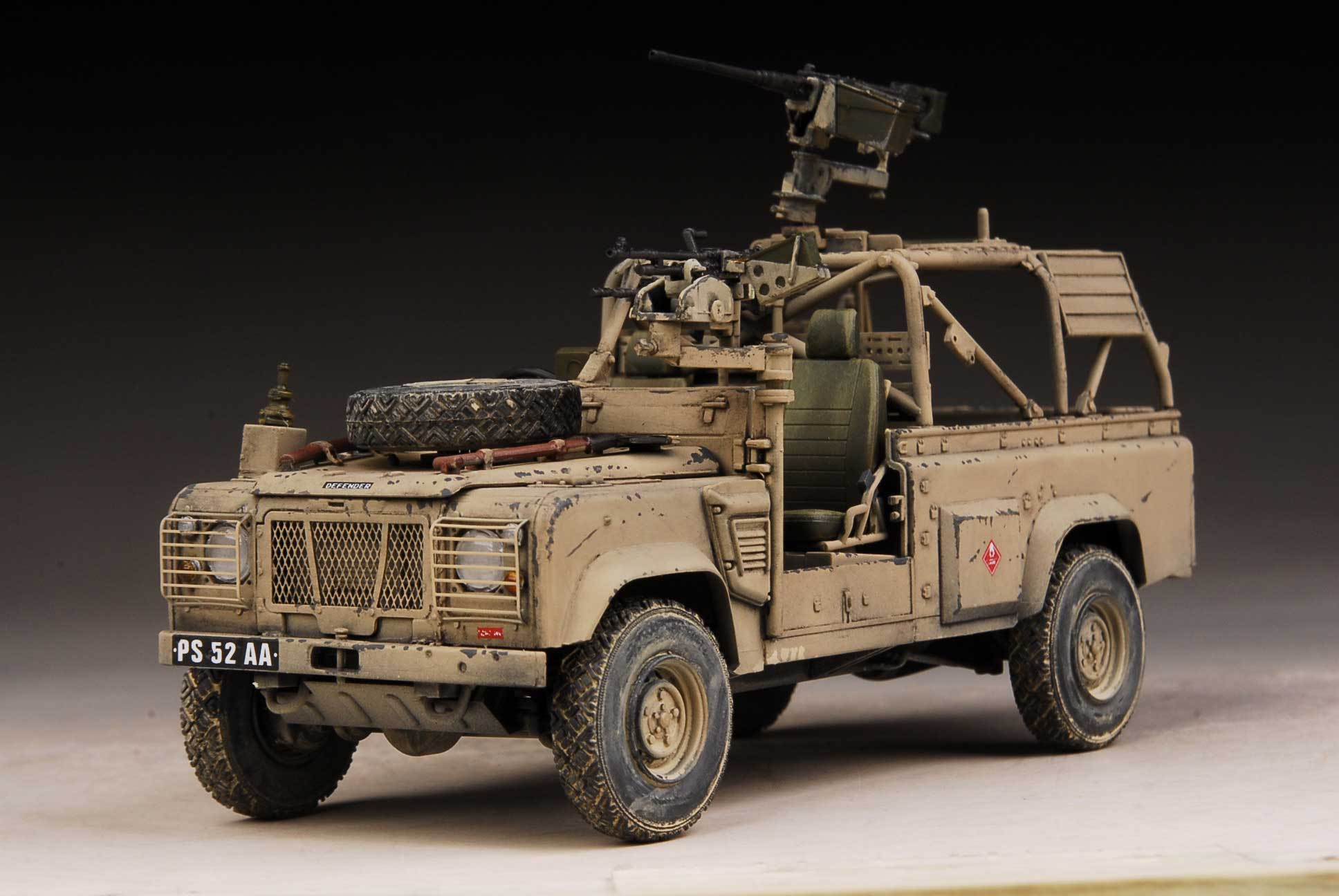 landrover zombie panther vehicle model rover sale land pink hunter pin for tamiya