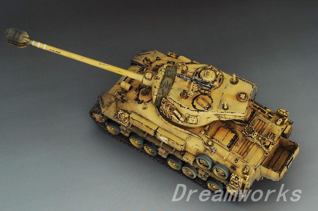 award winner built dragon 1 35 idf m 51 super sherman medium tank pe ebay. Black Bedroom Furniture Sets. Home Design Ideas
