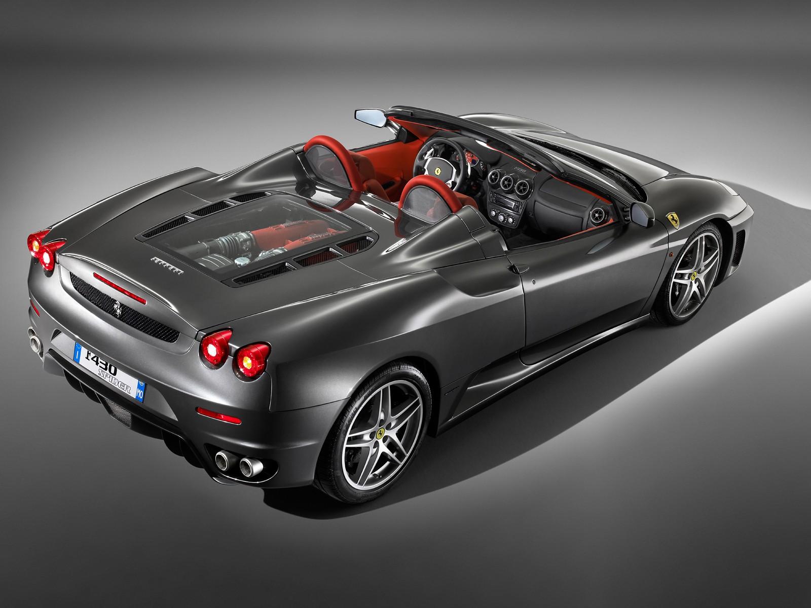 Award Winner Built Revell 1/24 Ferrari F430 Cabriolet +Interior +Engine  Deta | EBay