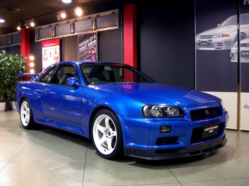 Details about Award Winner Built Tamiya 1/24 Nissan Skyline GT-R R34 V-spec  II +Interior