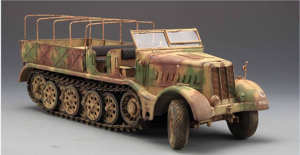 "236 Royal Model 1//35 18 Ton Heavy Half-track Sd.Kfz.9 /""FAMO/"" Update Set Tamiya"