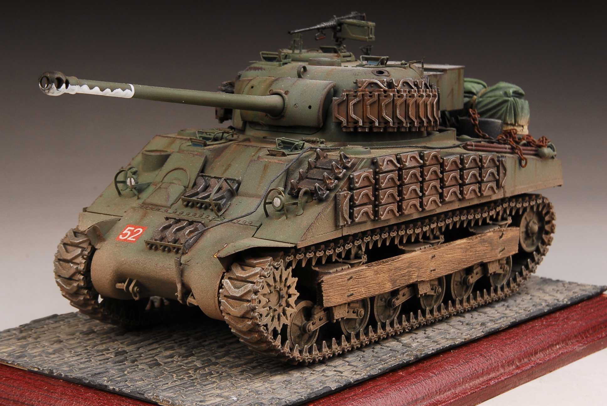 Details about Award Winner Built Dragon 1/35 Sherman Firefly 1c  Diorama+PE/Acc/ScratchBuilt