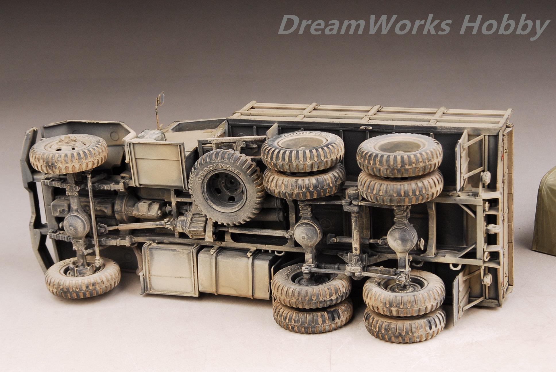Award Winner Pre Built AFV Club 1//35 US ARMY M35A2 Truck Details