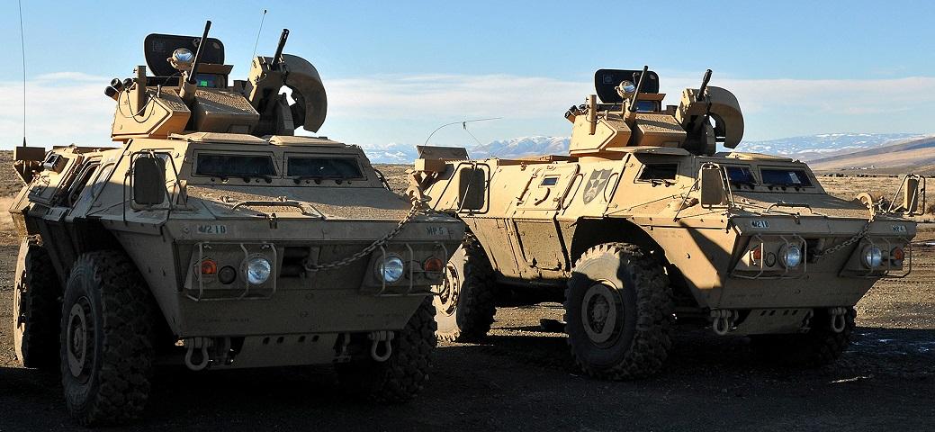 Award Winner Built Trumpeter 1//35 M1117 Guardian Armored Security Vehicle PE