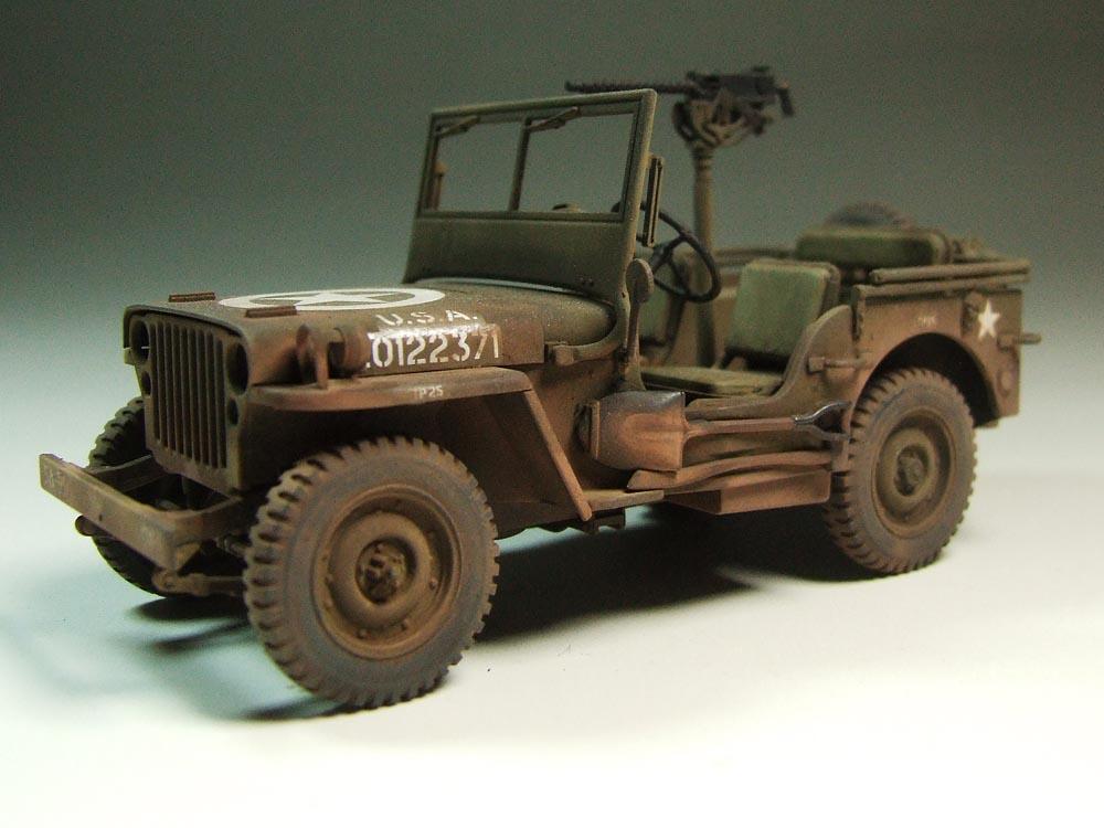 Award Winner Built Tamiya 1 35 Jeep Willys Mb 4 4 Command Reconnaissance Acc Ebay