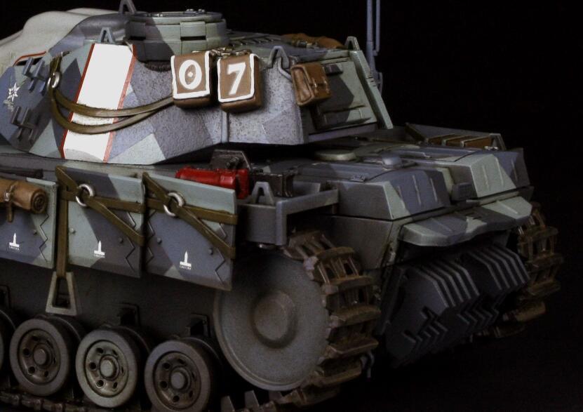 Built Zoukei-Mura 1/35 Principality of Gallia Experimental